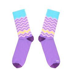 Toe Story Fialové ponožky Groovy Toe