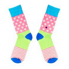 Toe Story Ponožky v pastelových barvách Inliner Toe