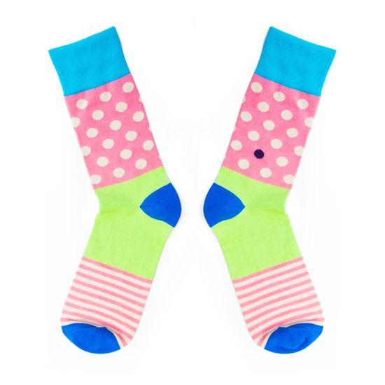 Toe Story Ponožky v pastelových barvách Inliner Toe, 43 - 45