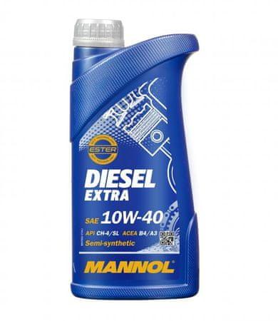 Mannol motorno olje Diesel Extra 10W-40, 1 l