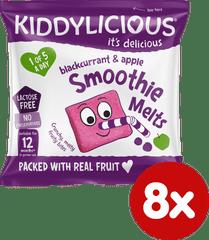 Kiddylicious ovocné polštářky z rybízu a jablek (8x6g)