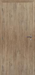SOLODOOR Interiérové dveře SOLODOOR, model SMART PLNÉ, šířka 700 mm, levé provedení, povrch SOLO STRUKTUR, dekor DUB ALPSKÝ, oblá boční hrana