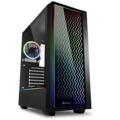 Sharkoon RGB LIT 200 kućište, midi ATX