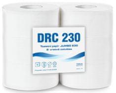 Drozd Toaletní papír Jumbo 230 2-vr.celulóza 6 rolí x 190m
