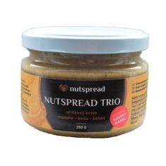 Nutspread Trio máslo křupavé 250 g