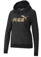 Puma Dámská mikina ESS+ Černá / Zlatá