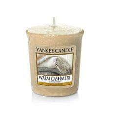 Yankee Candle Aromatická votivní svíčka Warm Cashmere 49 g