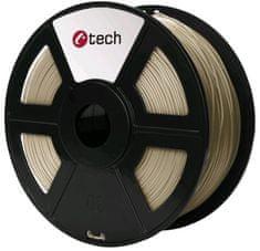 C-Tech tlačová struna, PLA, 1,75mm, 1kg, bronzová (3DF-PLA1.75-BZ)