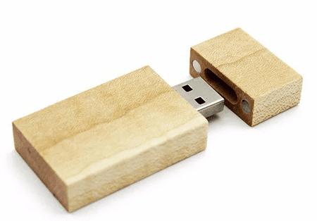 CTRL+C Pendrive eco wood KLON, 16 GB, USB 3.0/3.1