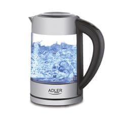 Adler kuhalo za vodu, 1,7 l, 2200 W