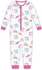 "Eplusm Dívčí bavlněné pyžamo ""Prasátko Peppa"" - růžová"