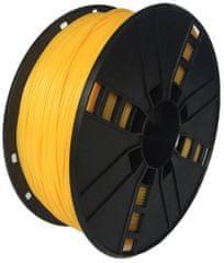 Gembird tlačová struna, flexibilná, 1,75mm, 1kg, žltá (3DP-TPE1.75-01-Y)