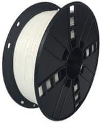 Gembird tlačová struna, PETG, 1,75mm, 1kg, biela (3DP-PETG1.75-01-W)