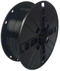 Gembird tlačová struna, PETG, 1,75mm, 1kg, čierna (3DP-PETG1.75-01-BK)