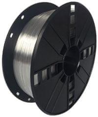 Gembird tlačová struna, PETG, 1,75mm, 1kg, natural (3DP-PETG1.75-01-NAT)