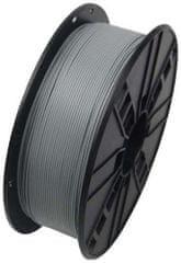 Gembird tlačová struna, PETG, 1,75mm, 1kg, sivá (3DP-PETG1.75-01-GR)