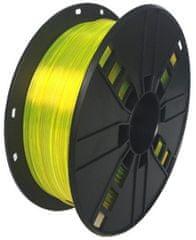 Gembird tlačová struna, PETG, 1,75mm, 1kg, žltá (3DP-PETG1.75-01-Y)