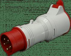 SEZ A 3253/43 Adaptér 400V 5P/4P 32A IP 44 SEZ