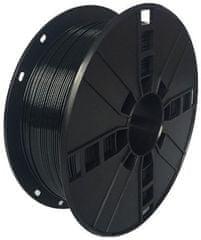 Gembird tlačová struna, PLA+, 1,75mm, 1kg, čierna (3DP-PLA + 1.75-02-BK)