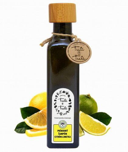 Ťuli a Ťuli Přírodní šampon Citron a Limetka