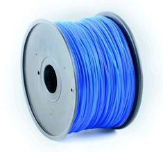 Gembird tlačová struna, ABS, 1,75mm, 1kg, modrá (3DP-ABS1.75-01-B)