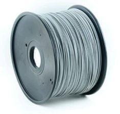 Gembird tlačová struna, ABS, 1,75mm, 1kg, sivá (3DP-ABS1.75-01-GR)