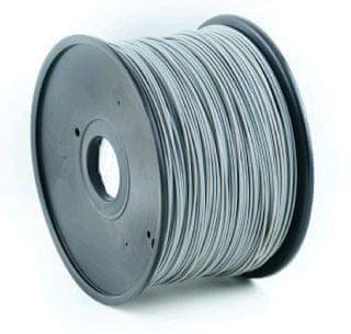 Gembird filament, ABS , 1,75mm, 1kg, szary (3DP-ABS1.75-01-GR)