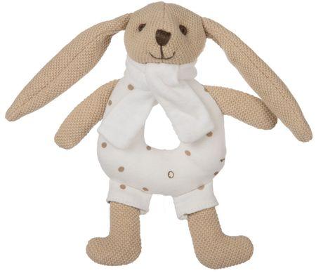 Canpol babies Bunny nyuszi csörgős, bézs