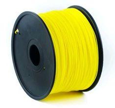 Gembird tlačová struna, ABS, 1,75mm, 1kg, žltá (3DP-ABS1.75-01-Y)