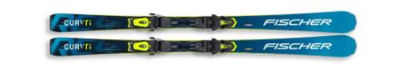 FISCHER set RC4 The Curv TI WS AR skije, 150 cm + RC4 Z11 PR vezi