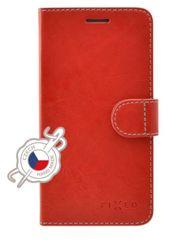 Fixed Pouzdro typu kniha Fit pro Apple iPhone 12 mini, červené FIXFIT-557-RD