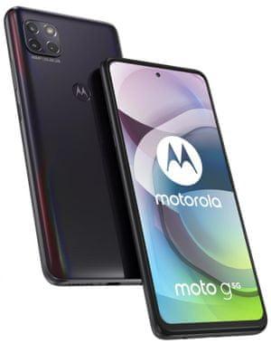 Motorola G 5G Plus, mobilná sieť 5G, rýchly, výkonný telefón, Snapdragon 750G