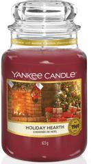 Yankee Candle Yankee gyertya HOLIDAY HEARTH Nagy gyertya 623 g