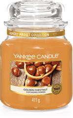 Yankee Candle Yankee gyertya ARANY Gesztenye Közepes gyertya 411 g