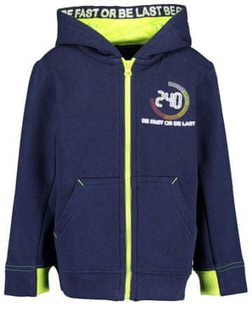 Blue Seven fantovski pulover, moder, 98