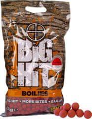 Crafty Catcher Big Hit Boilies Strawberry Cream +POP UP 15mm, 2kg