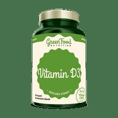 GreenFood GreenFood Vitamín D3 60 kapslí