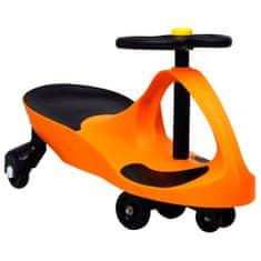 shumee Samochodiace autíčko pre deti s klaksónom oranžové