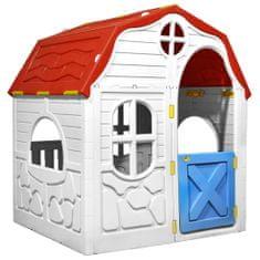 shumee Detský skladací domček s funkčnými dverami a oknami