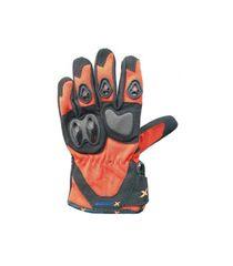 XMOTOS Moto rukavice XMOTOS dětské - černo/oranžové S
