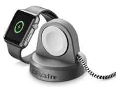 CellularLine Stojan s bezdrôtovým nabíjaním Power Dock pre Apple Watch WATCHSTANDWIRMFIK