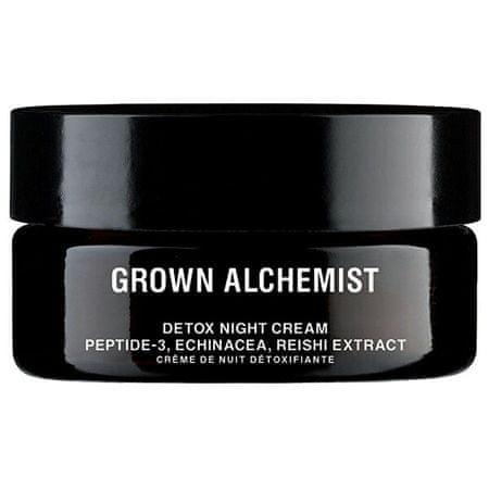Grown Alchemist Detox nočna krema za obraz Peptid-3, ehinaceja, ekstrakt reishi ( Detox Facial Night Cream) 40 ml