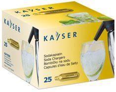 Kayser Sifónové bombičky CO2 jednorázové 25 ks
