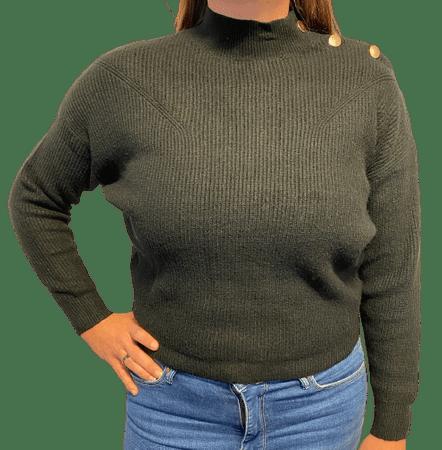 b.young ženski pulover Milo 20808928_1, M, črn