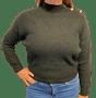 1 - b.young ženski pulover Milo 20808928_1, M, črn