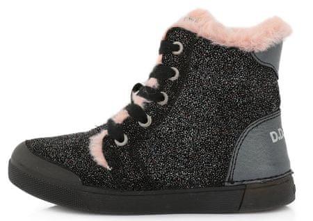 D-D-step téli lány bokacsizma 068-899, 34, fekete