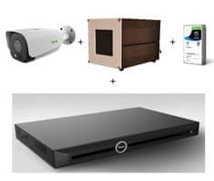 TIANDY CCTV sada pre meranie teploty osôb s termálnou Bi-spektrálna kamerou