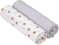 Lässig Swaddle Burp blanket 120x120