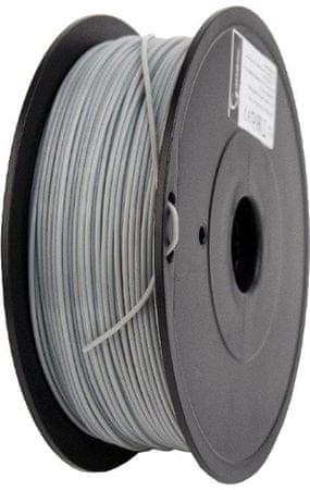 Gembird nyomtatószál, PLA, 1,75mm, 1kg, szürke (3DP-PLA+1.75-02-GR)