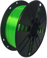 Gembird tlačová struna, PLA+, 1,75mm, 1kg, zelená (3DP-PLA + 1.75-02-G)